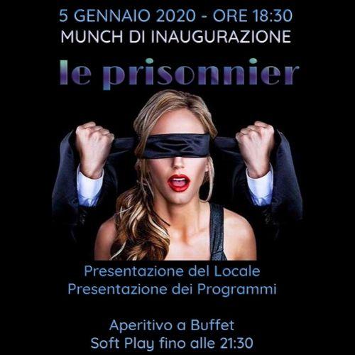 Le Prisonnier Brescia Inaugurazione Gennaio 2020